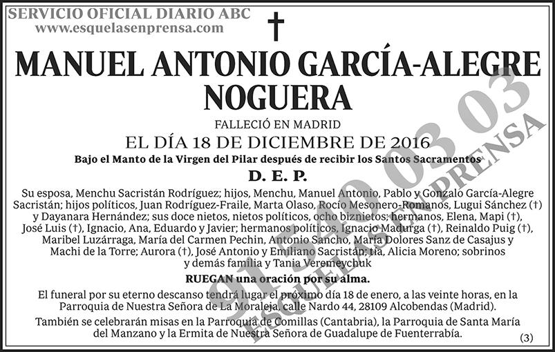 Manuel Antonio García-Alegre Noguera
